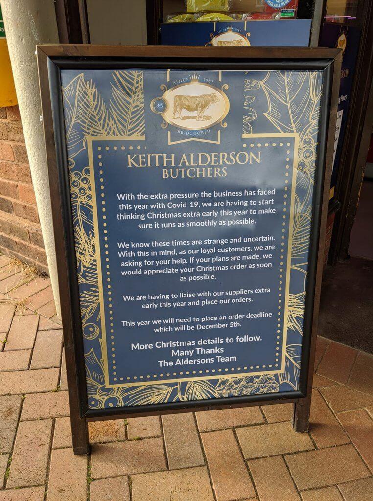 Keith Alderson Guidelines